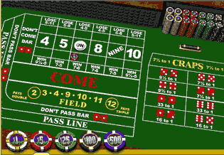 Craps -The Intimidating Table Game?